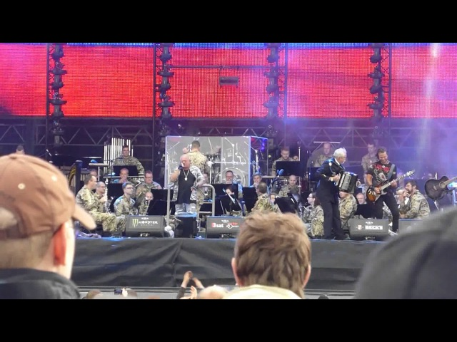 U.D.O. Trainride in Russia Poezd Po Rossii Wacken Open Air 2015