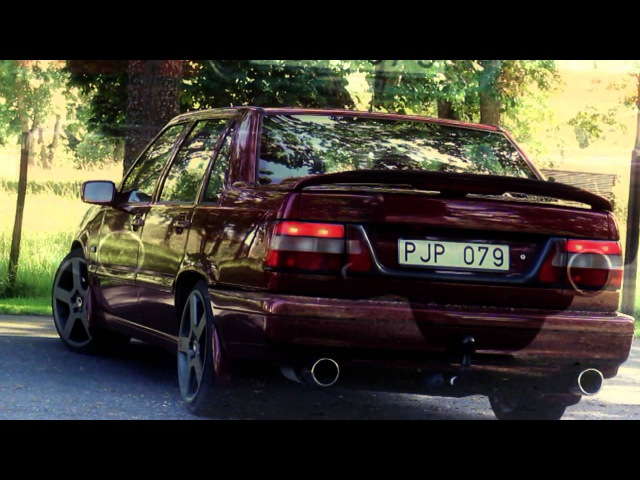 Volvo 850 T5 - Twinpipes R-look