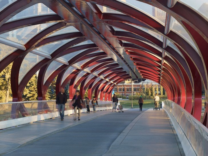 Peace Bridge: Santiago Calatrava
