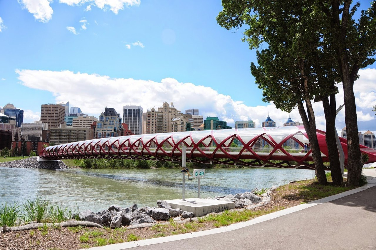 Peace Bridge: Santiago Calatrava