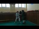 Смирнов Артём отработка комбинаций и силы удара