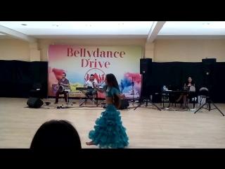 Полиночка импровизация под оркестр latifa dance