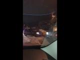 Видео аварии от подписчика группы КАНДАЛАКША ОНЛАЙН