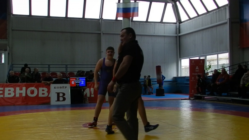 Дубовенков Мальков 85 кг