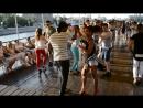 """LISANDRA GARCÍA RODRÍGUEZ(Куба) & Victor Gonsales(Куба) на open-air на теплоходе """"Полосатый рейс"""" 20.08"""