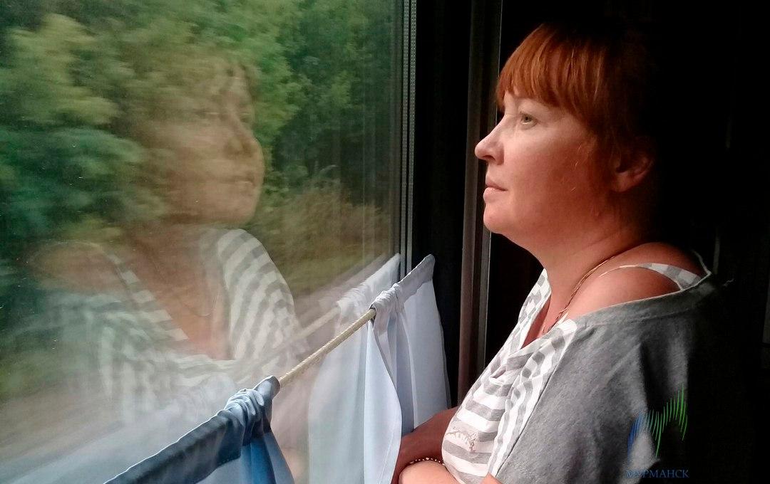 В Мурманске по дороге с работы пропала женщина