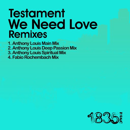 Testament альбом We Need Love (Anthony Louis Mixes)