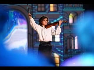 До слез! Матвей Блюмин. Синяя птица. А. Вивальди, концерт № 2 соль минор «Лето» из цикла «Времена года», часть 3, «Гроза»