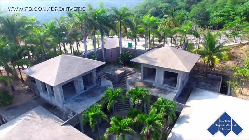 Playas de Huatulco, Finca El Pacífico. Oaxaca en Drone..mp4