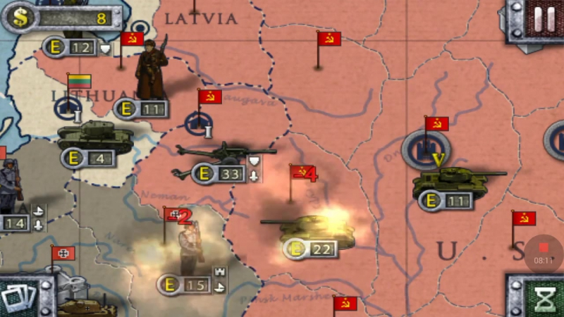 USSR—13 Defend The Moscow—European War 2