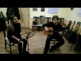 George Michael – Last Christmas, cover Яна Лобашева(вокал) и  Вячеслав Иванов(гитара)