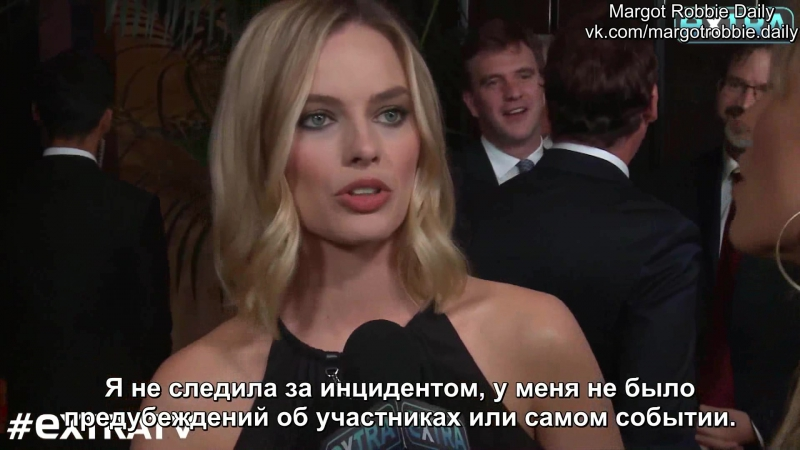 Интервью для «Extra TV» во время премии «Голливуд», Лос-Анджелес, США | 5.11.17 (Русские субтитры)