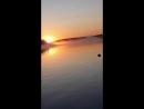 Классный восход на Волчихинском водохранилище 16.09.2017. Раннее утро.