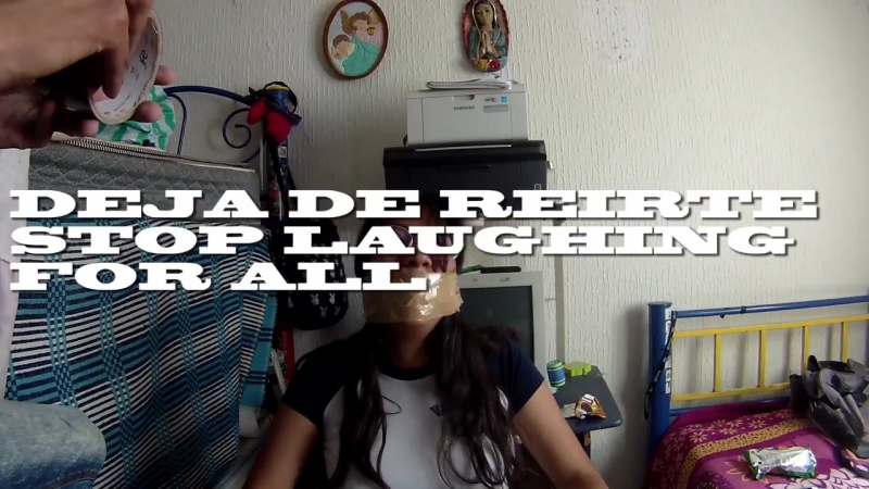 Duct tape Challenge to Chair - SIO RAMA - Otro mas ¬¬