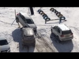 Мужчина устроил погром на парковке после ссоры с женой на 8 марта