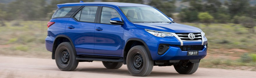 Тест-драйв — Toyota Fortuner