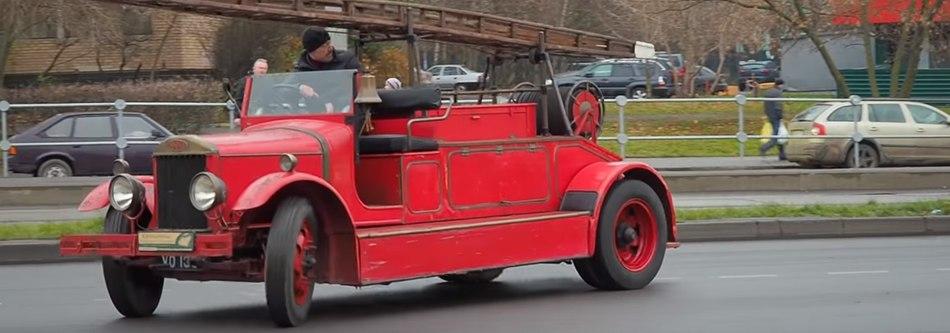 Тест-драйв — Dennis G-type 1929 года