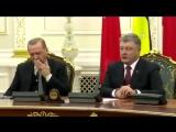 Эрдоган уснул от бреда Порошенко