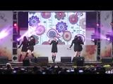 FANCAM 171028 _ A Pink выступили с ONLY ONE @ Bucheon Soekwangsa Temple