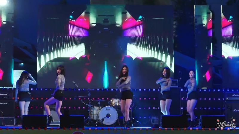170608 Brave Girls - High Heels; Talk; Rollin' @ 2017 Wonju Citizen's Health Concert