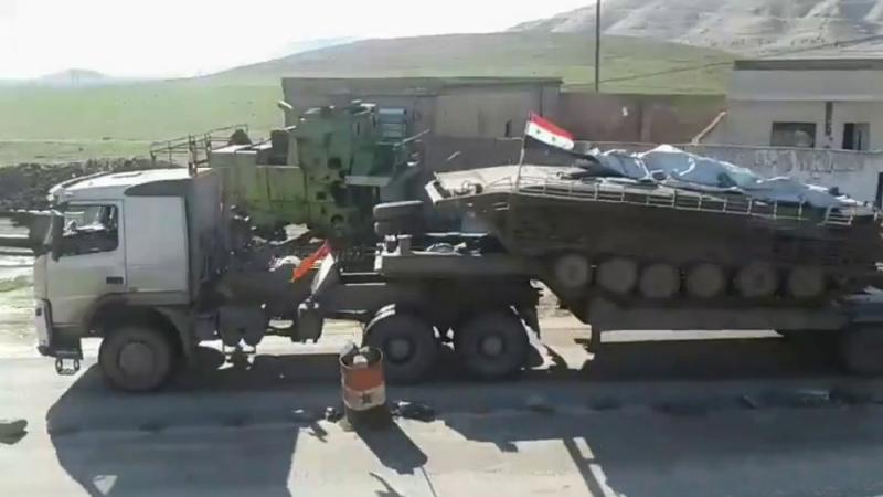 Огненные кулаки террористов под Дамаском накроют Смерчем и Точкой