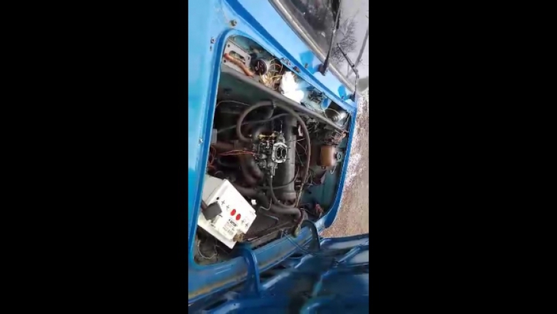 Ваз-21063 в мороз