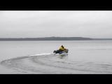 НОВИНКА 2017 года - надувная лодка Хантер 290 ЛКА с мотором 9,9 л.с.