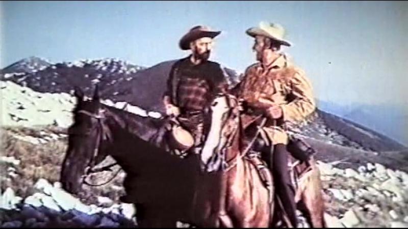 Верная Рука - друг индейцев (ФРГ, 1965) вестерн про Виннету, советская прокатная копия 2 выпуска 1985 года
