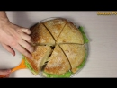 Бургер-пицца. Необычный рецепт необычного блюда.