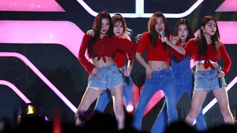 170930 Fever Fastival 레드벨벳 (RED VELVET) 빨간맛 (Red Flavor) 웬디 직캠 by 팔도조선