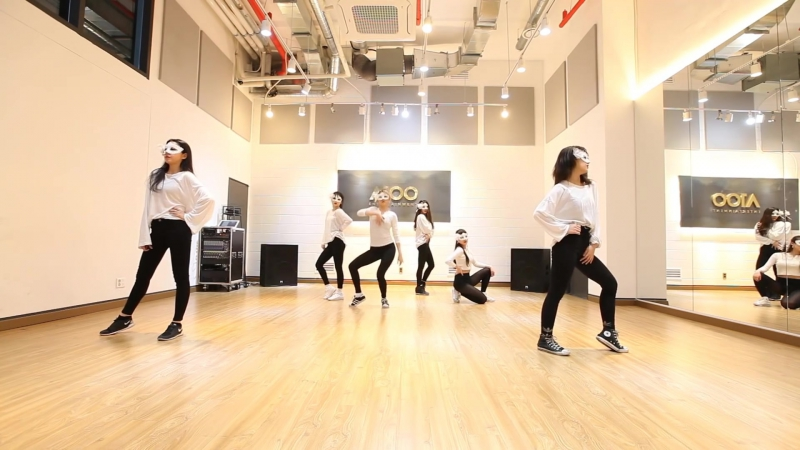 2017.04.06 A100 Entertainment First Project — PRACTICE FIVE (Ciara — Dance Like Were Making Love)