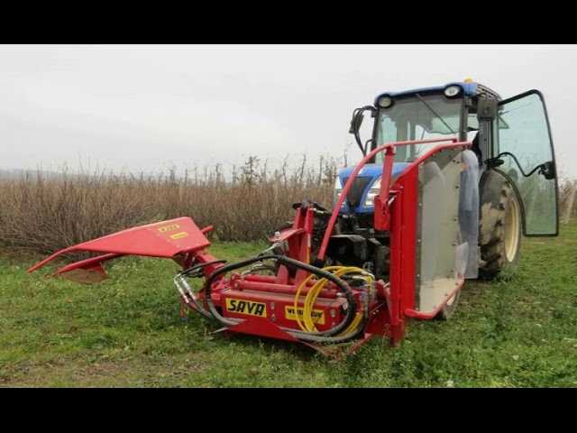 ROCH машина для обрезки побегов смородины Польша