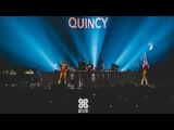 QUINCY Live - 10 Years Age of Love Lotto Arena Antwerp 23.02.2018