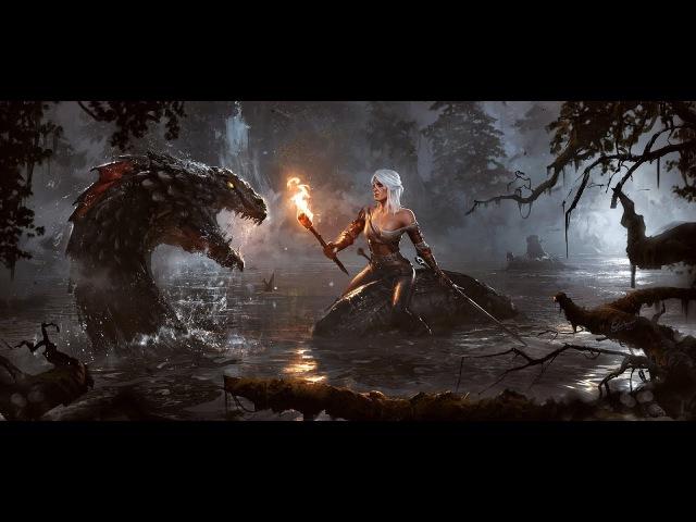 Кровавый Барон и Цири Ведьмак 3 Дикая охота on PS4