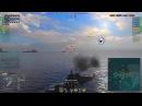 World of Warships Обзор линкоров Richelieu Alsace France