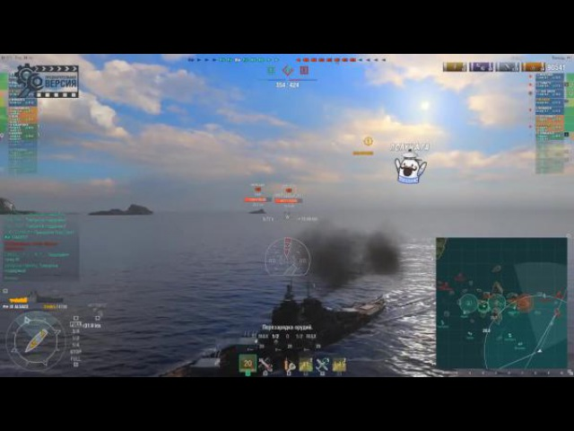 World of Warships Обзор линкоров Richelieu Alsace France смотреть онлайн без регистрации
