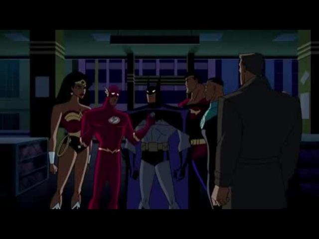 Batman reveals his secret identity