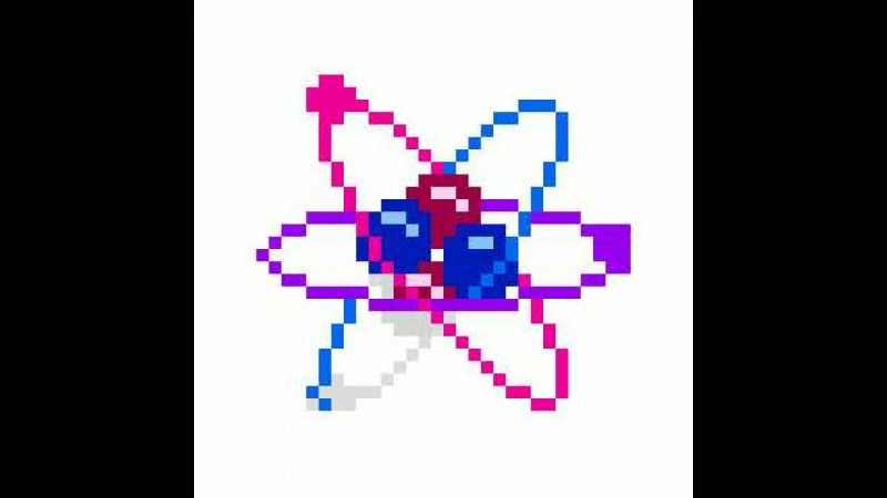 Раскраска 55 Sandbox Молекула