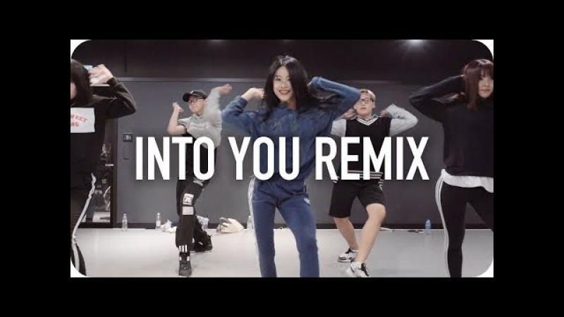 Into You 3LAU Remix Ariana Grande Beginner's Class