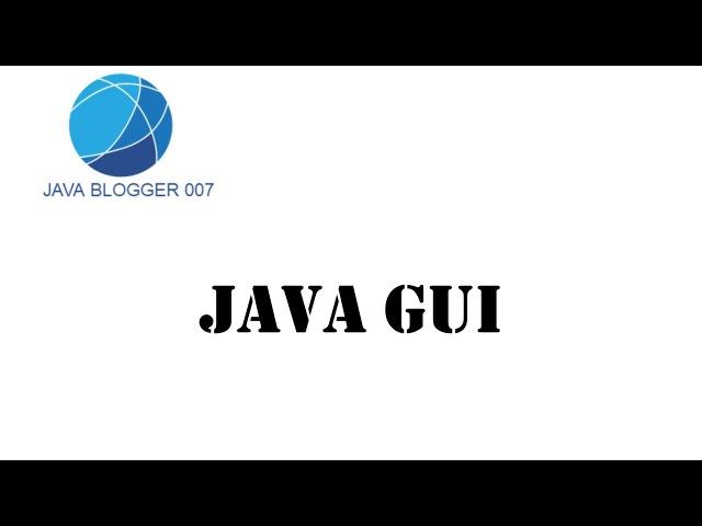 Урок №13 Java GUI JTabbedPane (вкладки панели)