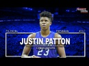 Players To Watch (PTW) Justin Patton Scoring Highlights Projected Lottery Pick