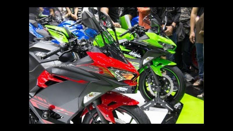 Kawasaki Ninja 400 giá bao nhiêu? Đánh giá ngoại hình thông số