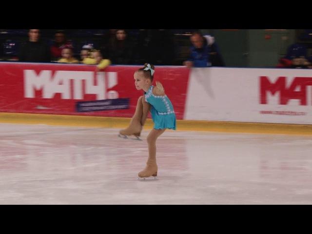 Новогодний кубок СКФК Престиж. 1 место - Женя Бахтаирова, Юный фигурист 2011 года ро...