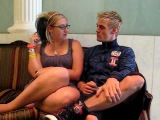 Two Girls and a Blog- Oh Aaron Carter - YouTube