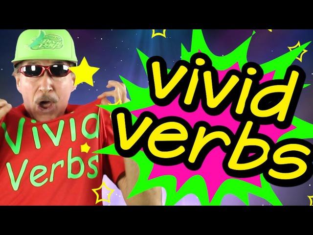 Vivid Verbs | Reading Writing Song for Kids | Verb Song | Jack Hartmann