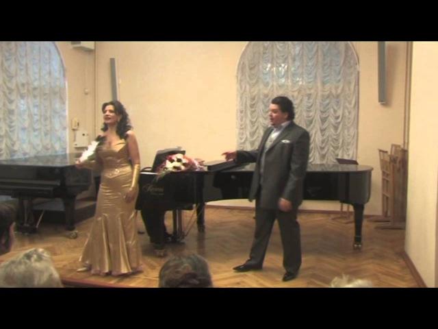Людмила Ляхова (меццо-сопрано) и Николай Ерохин (тенор)