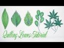 Quilling Leaves Tutorial P2 | Cómo hacer hojas de papel quilling