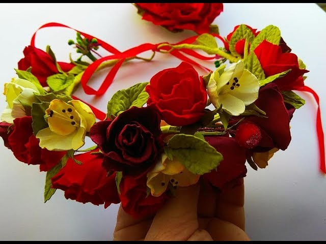 Шворак Алла_МК Вінок своїми руками Венок из цветов своими руками