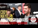Cody Mayo interviewed at the Premiere of Marvels Runaways streaming on Hulu WeAskMore ‏