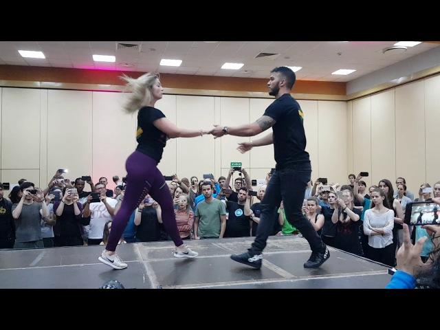 Arthur and Layssa - El Sol Warsaw Zouk Festival 2018 - Saturday1